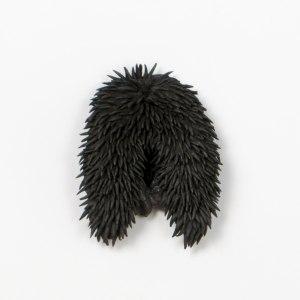 atribu | 9x12cm | grès noir | grès noir émaillé | 2016